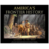 American's Frontier History Poster