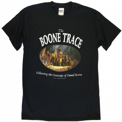 The Boone Society Black Tee