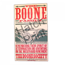 The Boone Society Hatch Print