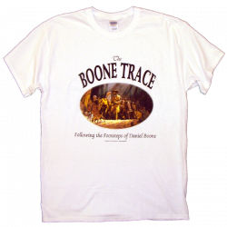 The Boone Society Unisex White Tee