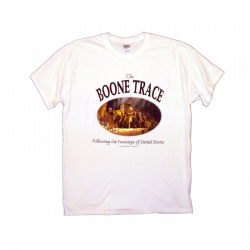 The Boone Society Youth White Tee